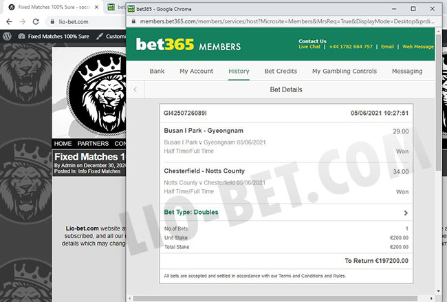 Asia Bet Fixed Matches